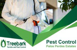 Pest Control Technician Spraying In Palos Verdes